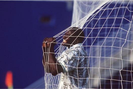 FUSSBALL : NATIONALMANNSCHAFT WM 1994 / NGA - BGR  3:0