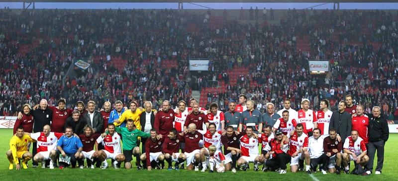 Slavie - Sparta - benefiční utkání - Vl. Šmicera