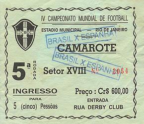 1950WC_Spain-Brasil