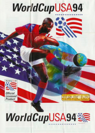 World Cup USA 94 Poster Front