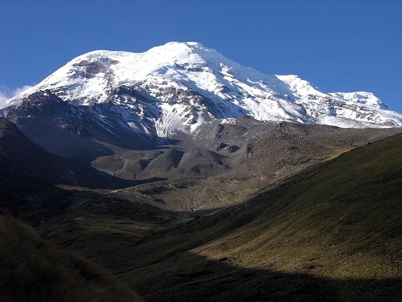 Ecuador Chimborazo 02-01 Estrella del Chimborazo Chimborazo Four Summits