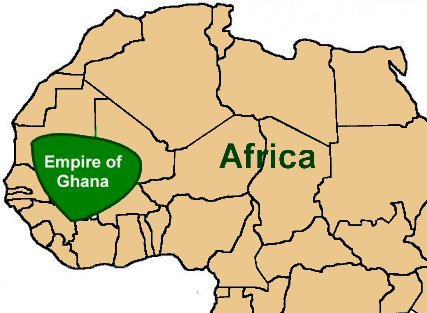 ghana_empire_africa_map