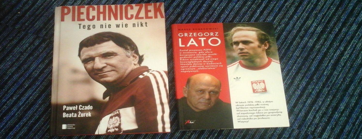 """Grzegorz Lato"""" Marka Bobakowskiego oraz """"Piechniczek Tego nie wie"""