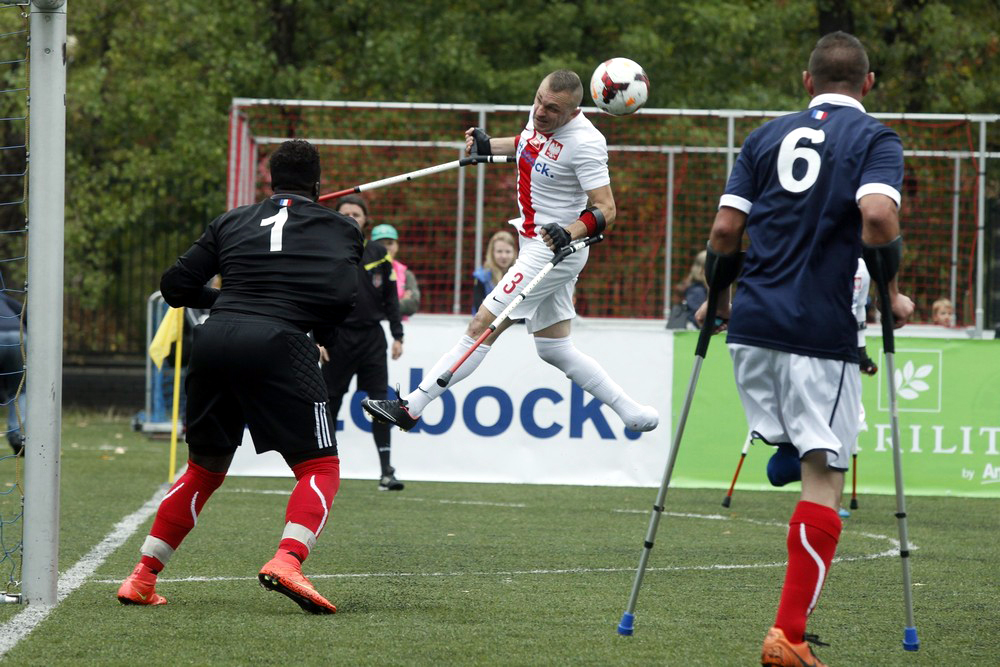 Amp Futbol Cup 2015 Fot: Grzegorz Press
